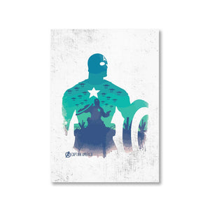 Captain America Poster The Banyan Tee TBT