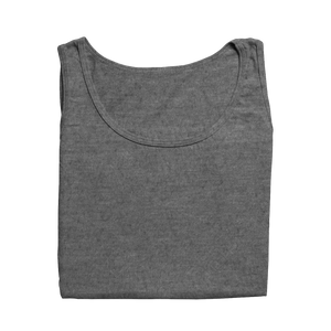 charcoal melange tanks tops by the banyan tee plain cotton tank tops for women  for girls for women for gym