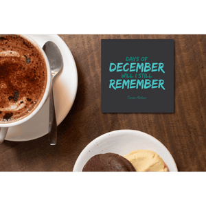 Days Of December Coasters by Tannison Mathews