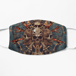 Printed Mask - Demon Of Desires by Yuvraj Imaginaria