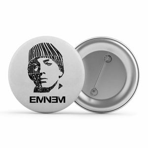 Eminem Badge Metal Pin Button The Banyan Tee TBT
