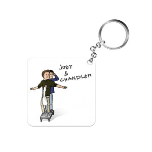 Friends Keychain - Joey And Chandler The Banyan Tee TBT