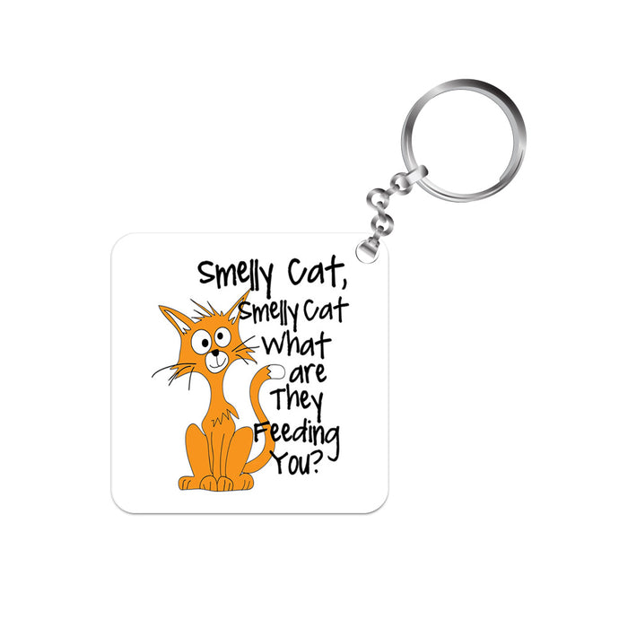 Friends Keychain - Smelly Cat The Banyan Tee TBT