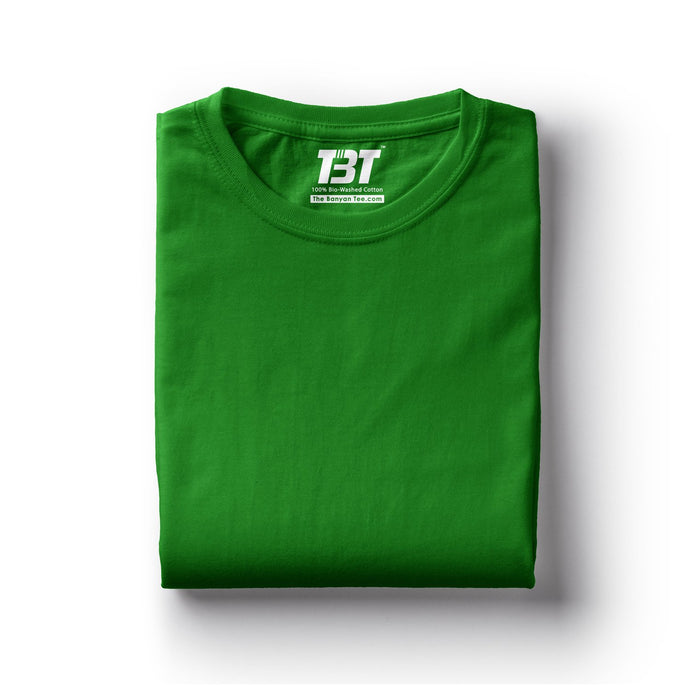 plain t-shirt india green bottle green sap green dark green t-shirts the banyan tee tbt basics buy plain tshirts india