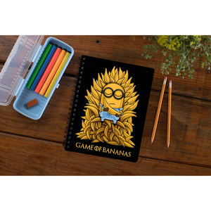 Game Of Thrones Notebook - Banana Throne The Banyan Tee TBT