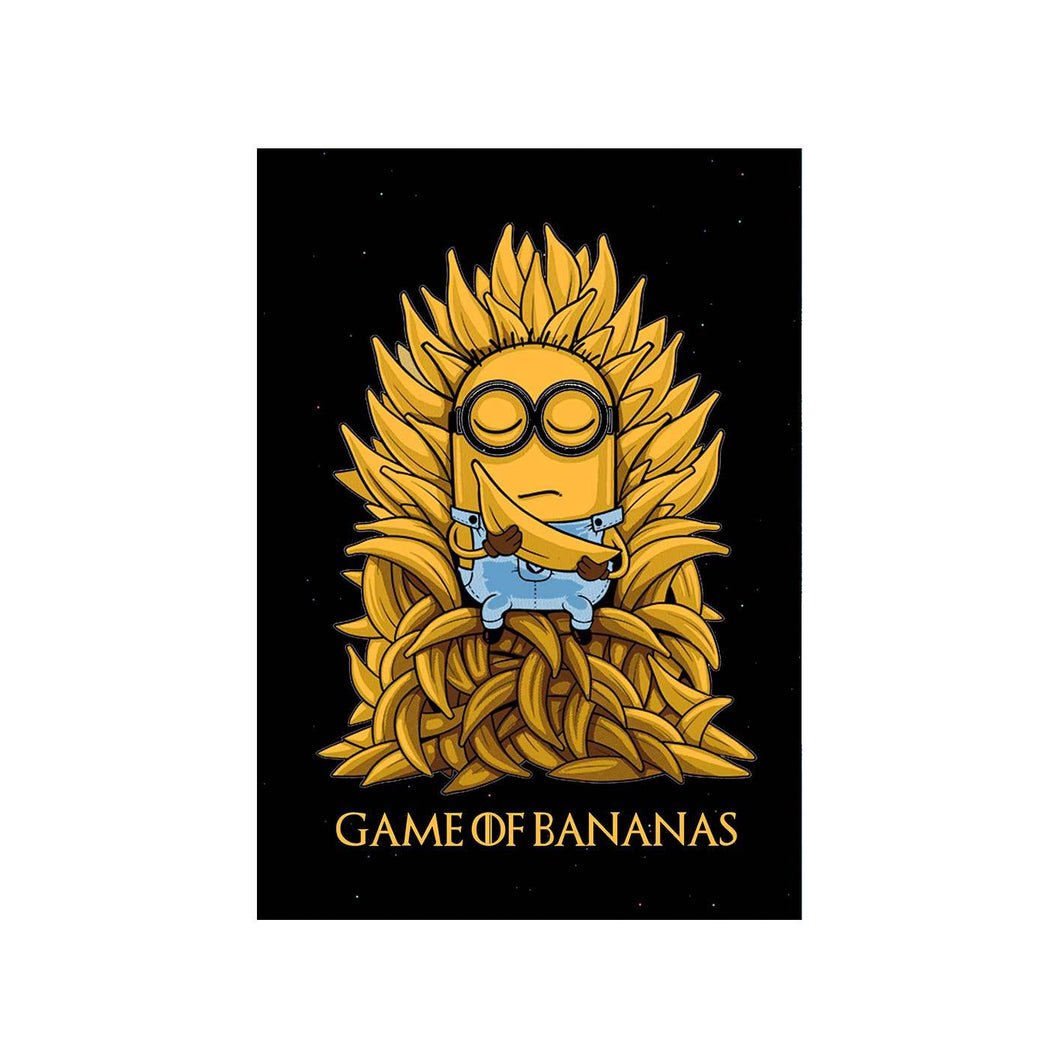 Game Of Thrones Poster - Banana Throne The Banyan Tee TBT