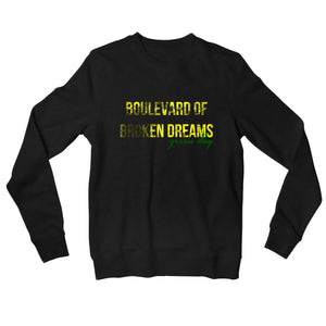 Green Day Sweatshirt - Boulevard Of Broken Dreams Sweatshirt The Banyan Tee TBT