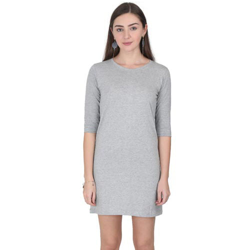 grey melange tshirt dresses by the banyan tee grey melange tshirt dress