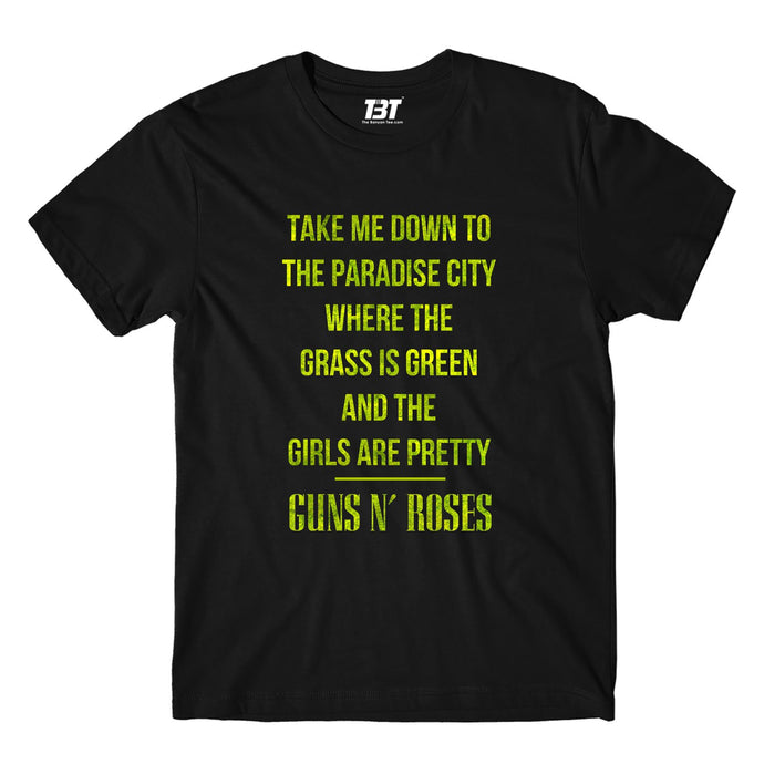 Guns N' Roses T-shirt - Paradise City T-shirt The Banyan Tee TBT