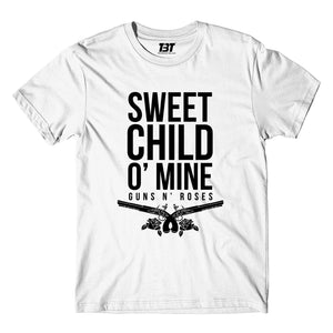 Guns N' Roses T-shirt - Sweet Child O' Mine T-shirt The Banyan Tee TBT