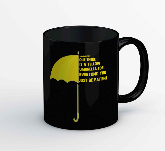 How I Met Your Mother Mug - Yellow Umbrella The Banyan Tee TBT