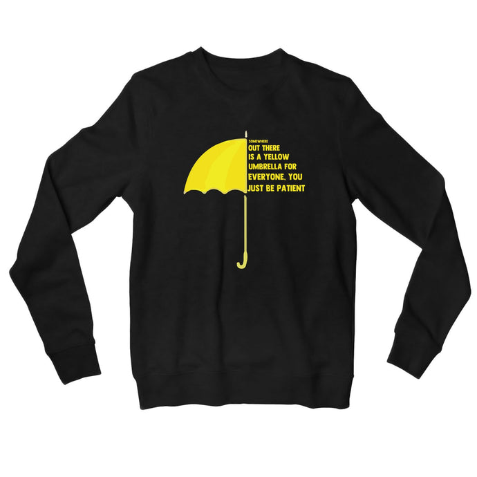 How I Met Your Mother Sweatshirt - Yellow Umbrella Sweatshirt The Banyan Tee TBT