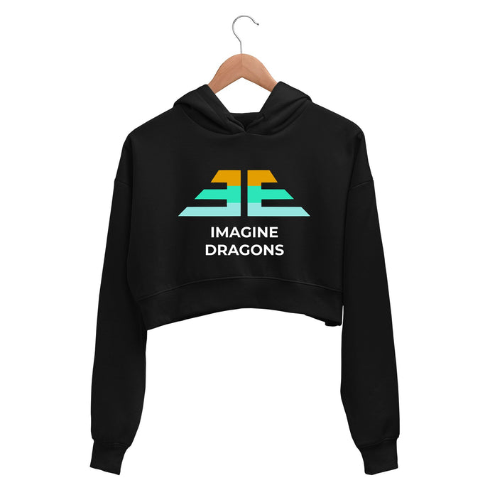 Imagine Dragons Crop Hoodie Crop Hooded Sweatshirt for Women The Banyan Tee TBT