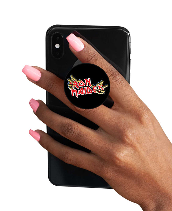 Iron Maiden Pop Socket Pop Socket Pop Holder The Banyan Tee TBT