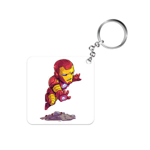 Iron man Keychain by The Banyan Tee