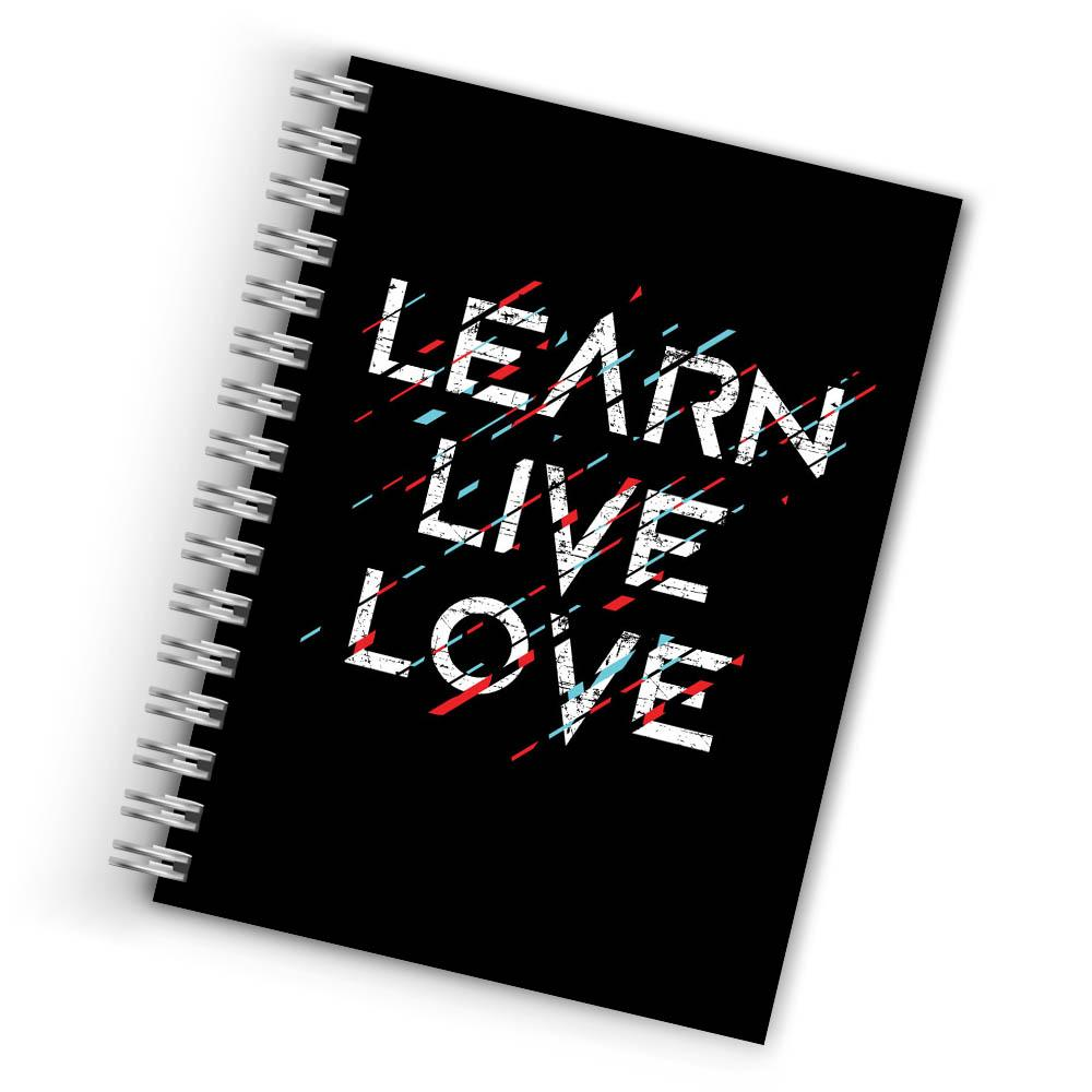 Buy Cool Learn Live Love Notebook THE BANYAN TEE Notebook Quotes Notebook in INDIA
