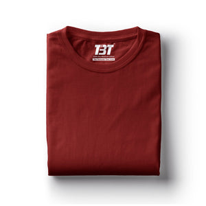 plain t-shirt india maroon t-shirts dark red tshirts the banyan tee tbt basics buy plain tshirts india