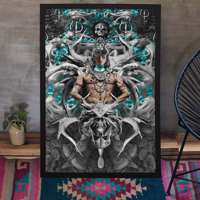 Occult Shiva Poster