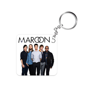 maroon 5 keychain keyring band music pop
