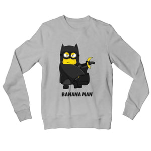 Minions Sweatshirt - Banana Man Sweatshirt The Banyan Tee TBT