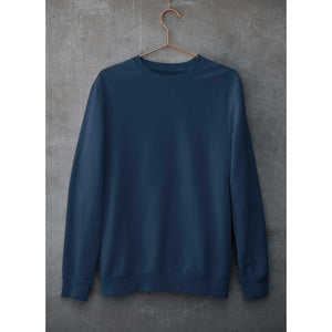Plain Navy Blue Sweatshirt The Banyan Tee weatshirts and hoodies for men for women