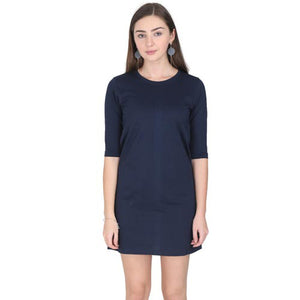 navy blue t shirt dresses by the banyan tee 3/4 th sleeve tshirt dress navy blue dress