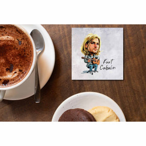 Nirvana Coaster - Kurt Cobain Coasters The Banyan Tee TBT