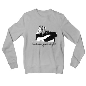 Nirvana Sweatshirt - You Know You're Right Sweatshirt The Banyan Tee TBT