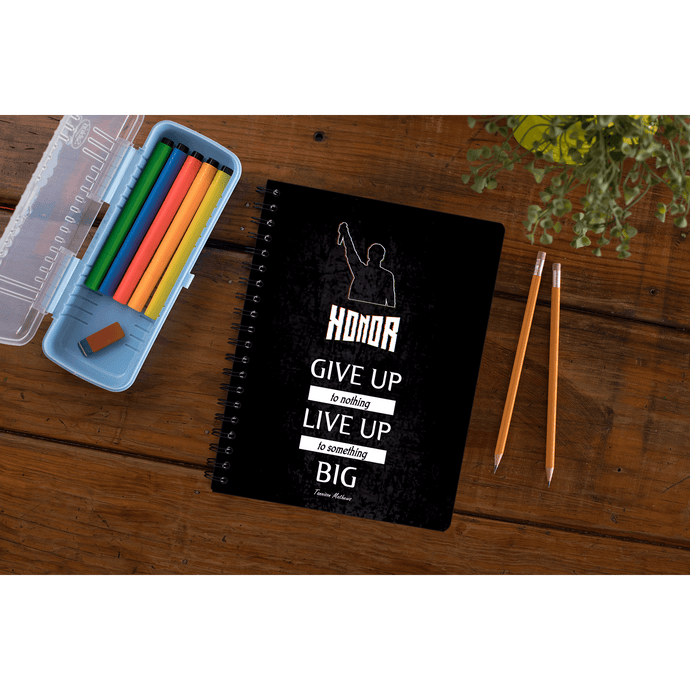 Honor Notebook by Tannison Mathews