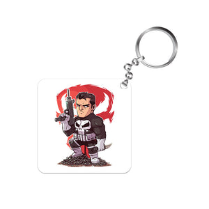Punisher Keychain The Banyan Tee TBT