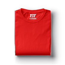 plain t-shirt india red t-shirts dark red tshirts bright red the banyan tee tbt basics buy plain tshirts india