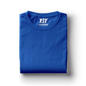plain t-shirt india royal blue t-shirts royal blue tshirts dark blue the banyan tee tbt basics buy plain tshirts india