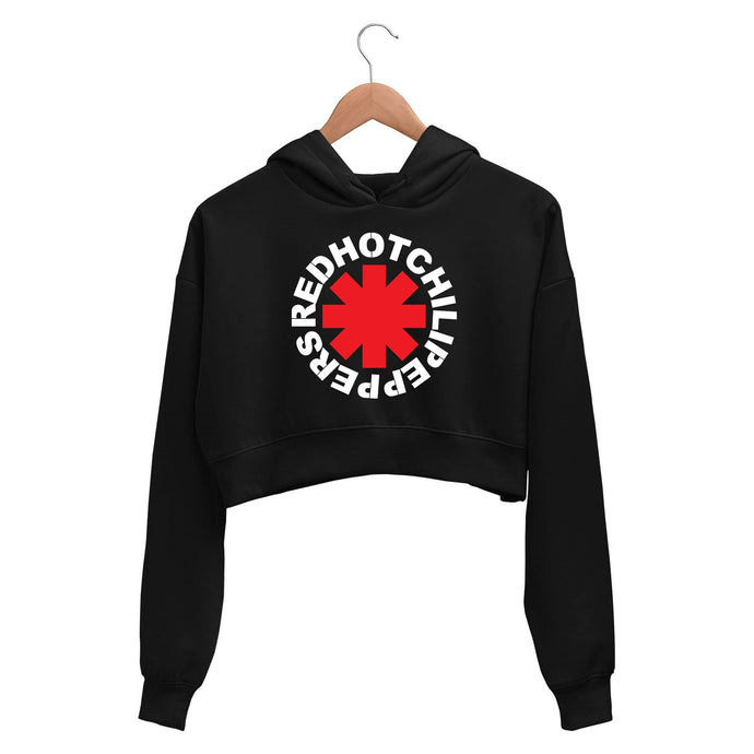 Red Hot Chili Peppers Crop Hoodie Crop Hooded Sweatshirt for Women The Banyan Tee TBT
