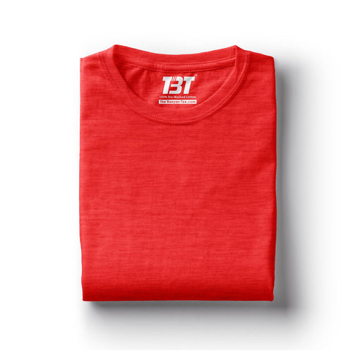 plain t-shirt india red melange t-shirts red tshirts the banyan tee tbt basics buy plain tshirts india