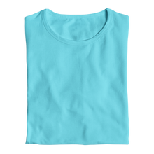 sky blue womens tops for girls by the banyan tee