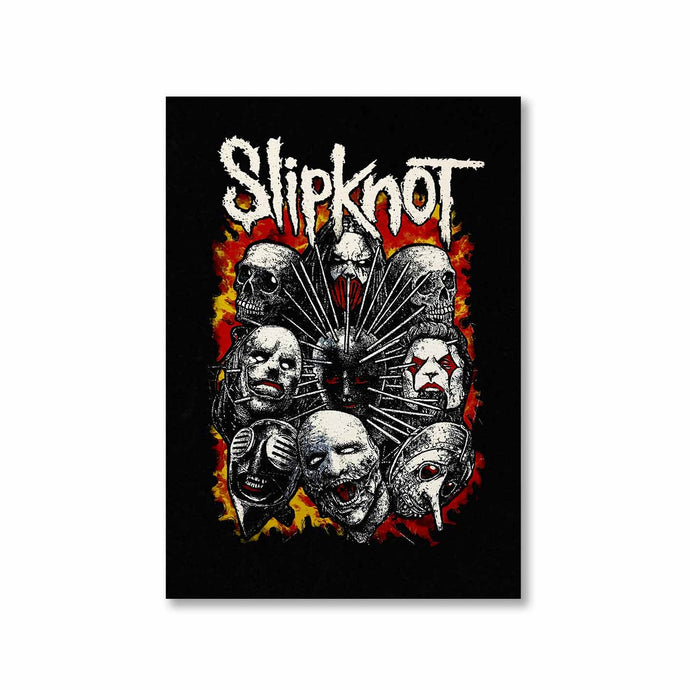 Slipknot Poster Posters The Banyan Tee TBT