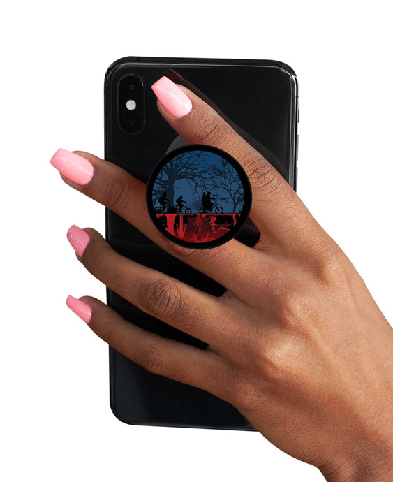 Stranger Things Pop Socket - Upside Down Pop Socket Pop Holder The Banyan Tee TBT