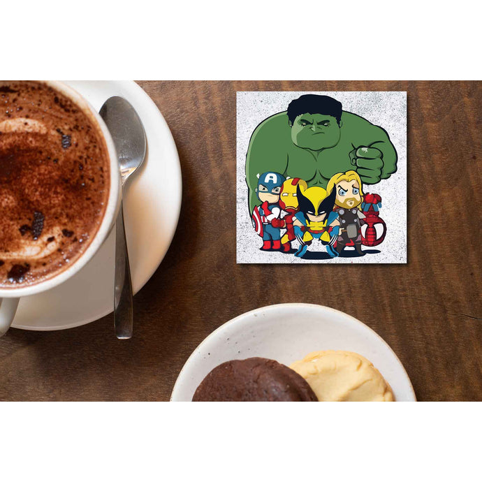 Superheroes Coaster - Superheroes Coasters The Banyan Tee TBT