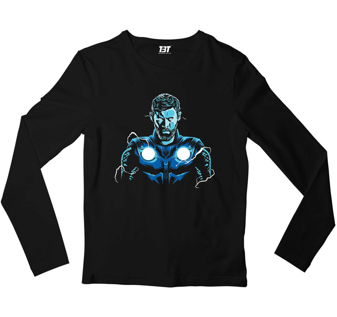 Superheroes Full Sleeves T-shirt - Thor Full Sleeves T-shirt The Banyan Tee TBT