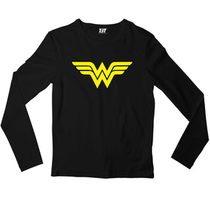 Superheroes Full Sleeves T-shirt - Wonder Woman Full Sleeves T-shirt The Banyan Tee TBT