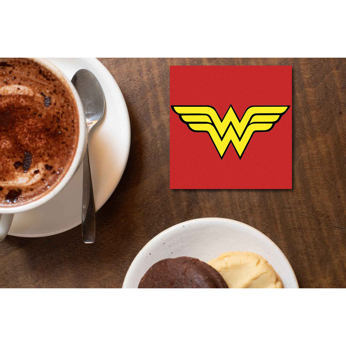 Superheroes Coaster - Wonder Woman Coasters The Banyan Tee TBT