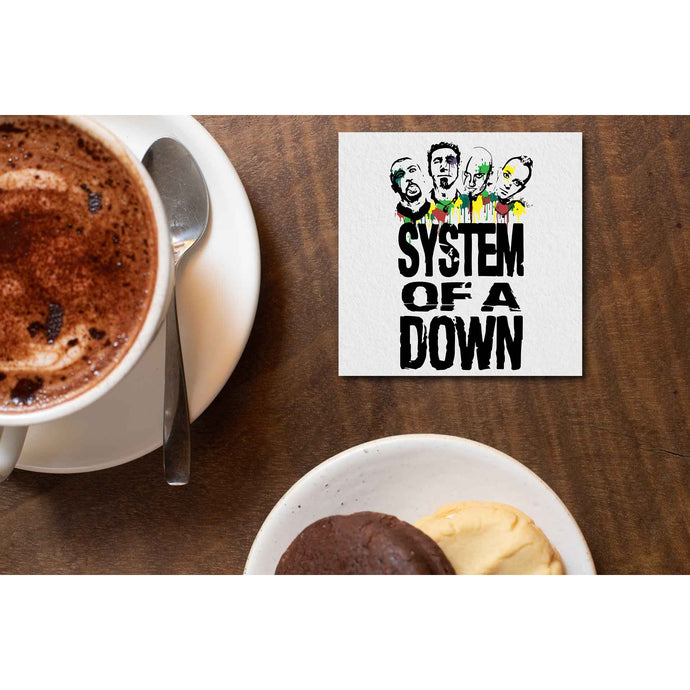 System Of A Down Coaster Coasters The Banyan Tee TBT