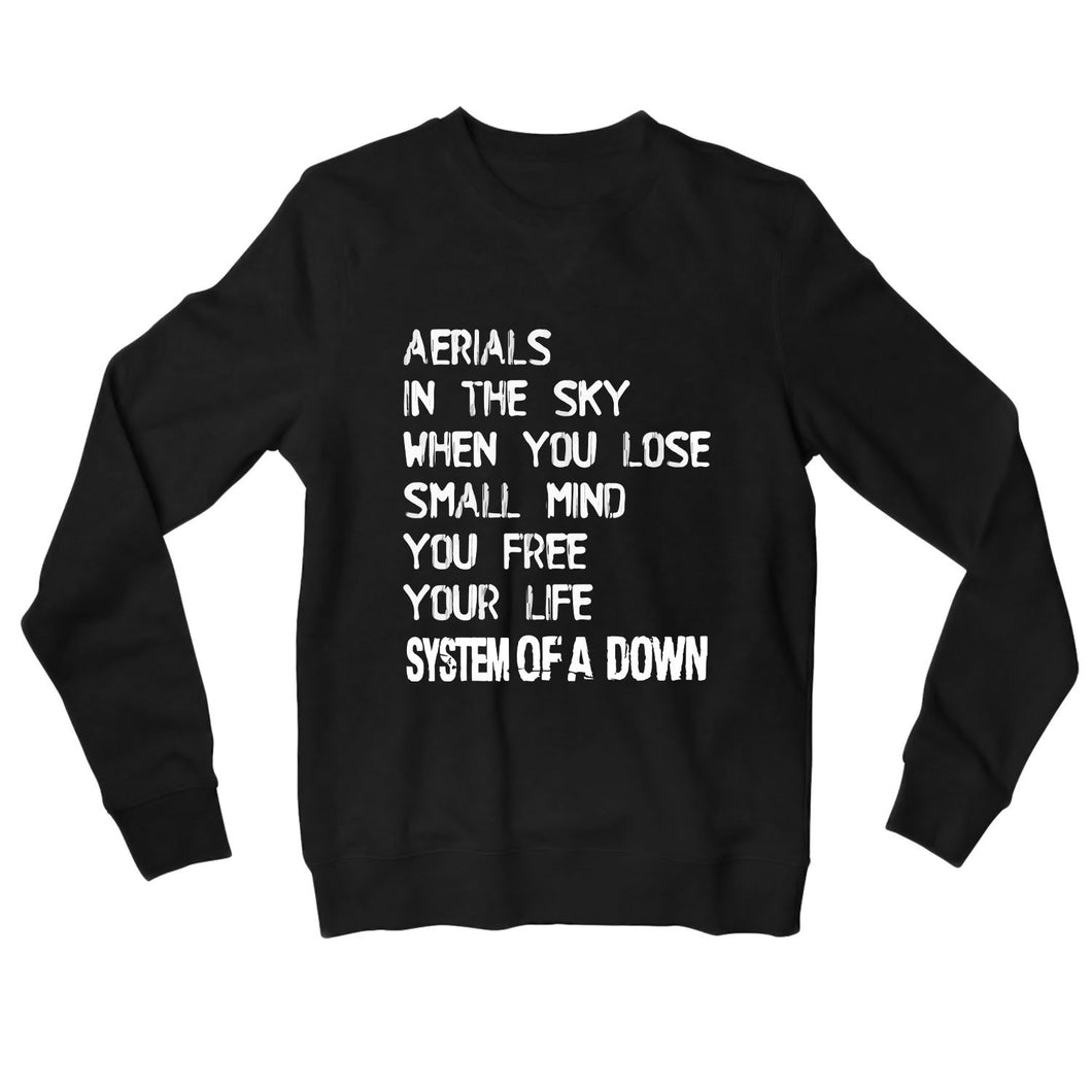 System Of A Down Sweatshirt - Aerials Sweatshirt The Banyan Tee TBT