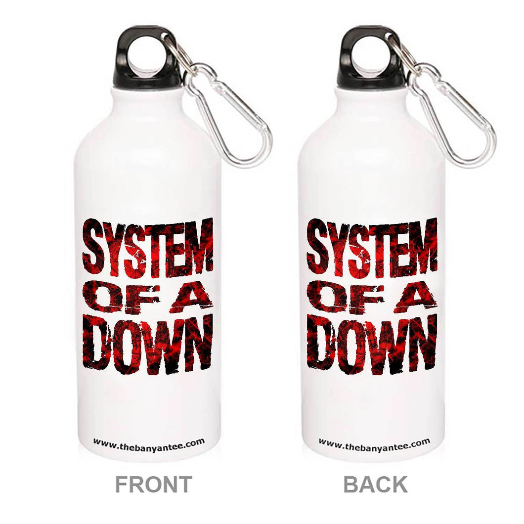 System Of A Down Sipper Sipper Metal Water Bottle The Banyan Tee TBT