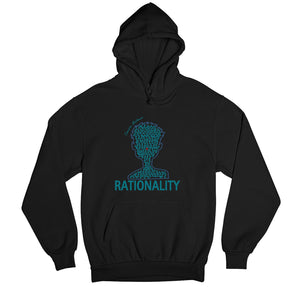 Rationality Hoodie by Tannison Mathews