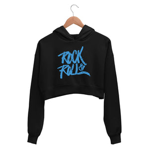The Beatles Crop Hoodie - Rock N' Roll Crop Hooded Sweatshirt for Women The Banyan Tee TBT