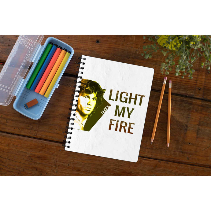 The Doors Notebook - Light My Fire Notebook The Banyan Tee TBT
