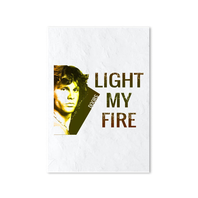 The Doors Poster - Light My Fire Posters The Banyan Tee TBT