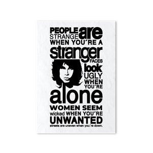 The Doors Poster - People Are Strange Posters The Banyan Tee TBT