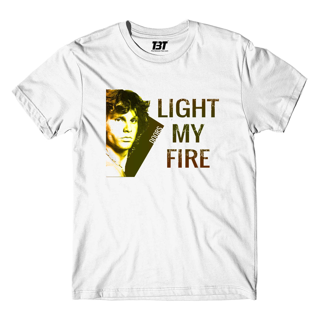 The Doors T-shirt - Light My Fire T-shirt The Banyan Tee TBT